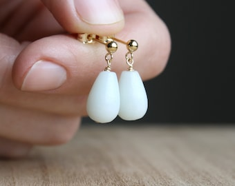 Amazonite Earrings for Clarity and Calm NEW