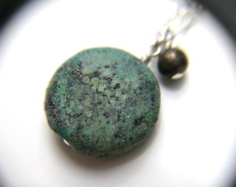 Raw African Turquoise Necklace