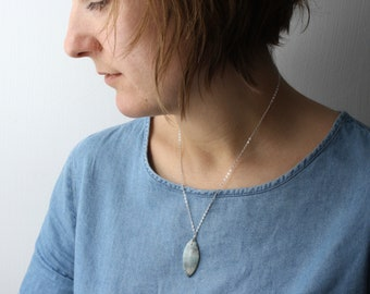 Negative Energy Protection Necklace . Amazonite Necklace