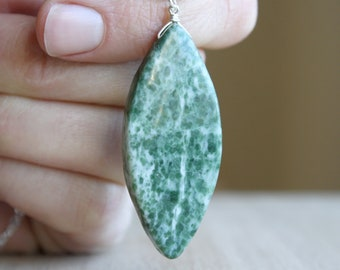 Tree Agate Necklace for Balance and Calm NEW