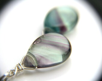 Rainbow Fluorite Necklace for Clarity and Focus
