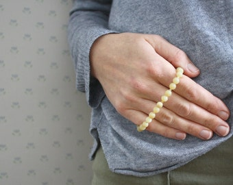 Yellow Opal Bracelet for Independence and Creativity
