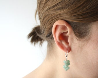 Green Aventurine Earrings for Wealth and Strength