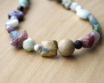 Necklaces BEADED STONE