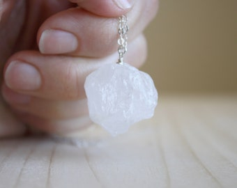 Rock Quartz Necklace for Healing and Harmony