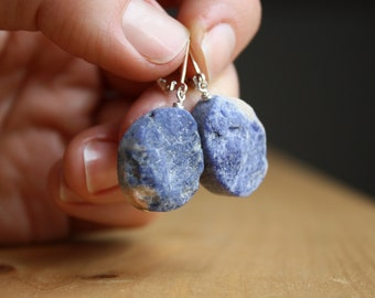 Orange Sodalite Earrings for Creativity and Intuition NEW
