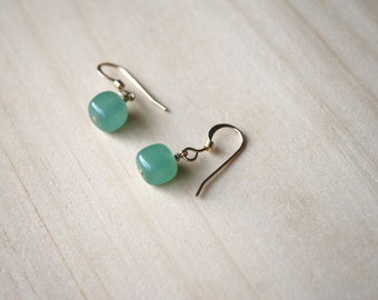Green Aventurine Earrings for Prosperity and Strength