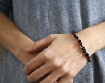 Tiger Eye Bracelet for Strength and Accomplishing Goals