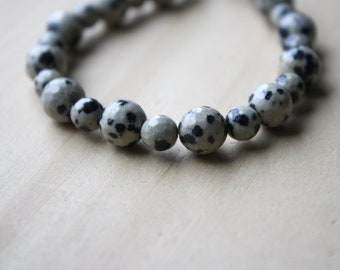 Dalmatian Stone Bracelet for Freedom and Self Expression