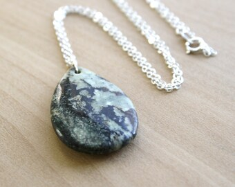 Natural Jasper Necklace for Strength and Grounding