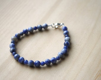 Sodalite Bracelet for Creativity and Intuition