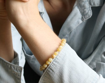 Yellow Opal Bracelet for Inventiveness and Lightness of Heart