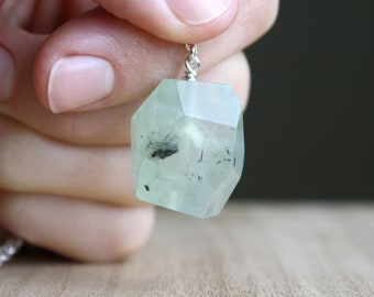 Natural Prehnite Necklace for Peace and Harmony NEW