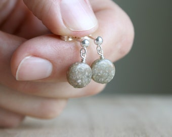 Unakite Studs for Emotional Resilience and Balance
