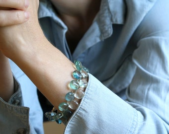Green Fluorite Bracelet for Cleansing and Purification