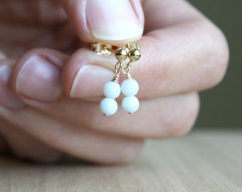 Amazonite Earrings for Soothing Energy and Dispelling Negativity