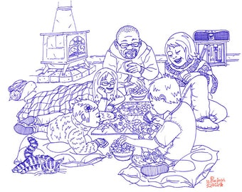 Game Night Original UNBORED Games page 56 Illustration by Mister Reusch