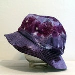 Purple Tie Dye Adult Bucket Hat