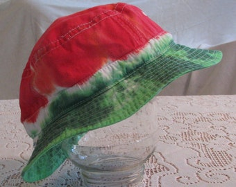Watermelon Tie Dye Adult Bucket Hat
