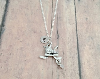 Craft Supplies Free Shipping within the USA Pendant Vintage Charm M274 925 Silver Hockey Mom