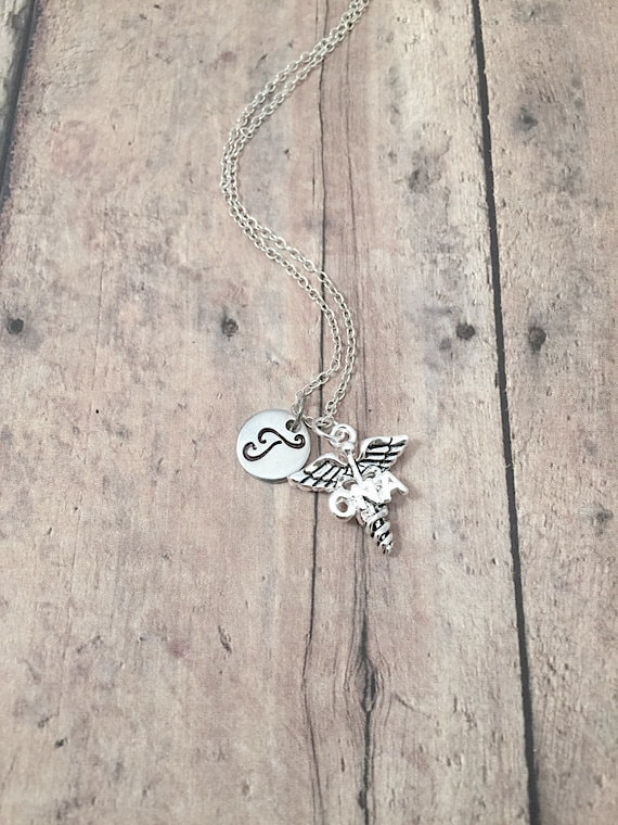 """Charm 18/"""" Box Chain Sterling Silver CNA Certified Nursing Assistant Pendant"""
