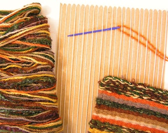Learn to Weave Kit in Earth Colourway