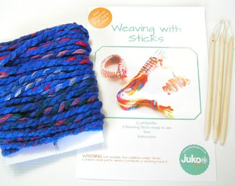 Stick weaving kit