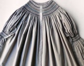 Roselyne Blouse - nO 042 - Long Sleeve -  Size M, 8-10 US/Canada - Pearl Grey