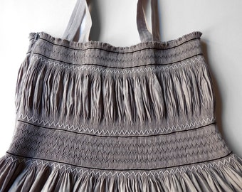 Roselyne Sundress in Grey nO.041 - Size S-SX EU - The bohemian chic look