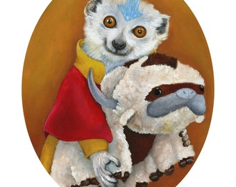 Lemur Cosplay Print