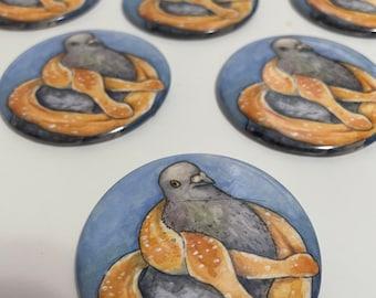 Magnet - Pretzel Pigeon
