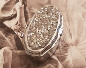 Stash Pill Box Silver