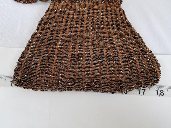1920's-1930's  BEADED DRAWSTRING BAG - image 7