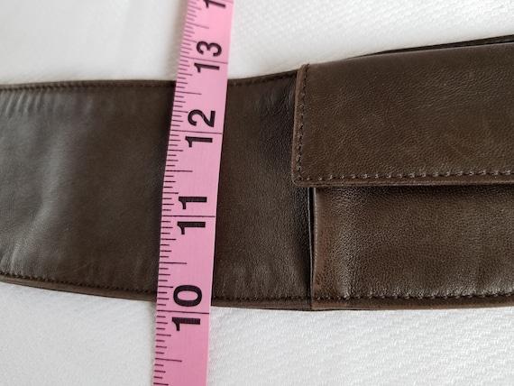 1980's-90's  PRADA Pocket/Money BELT - image 8