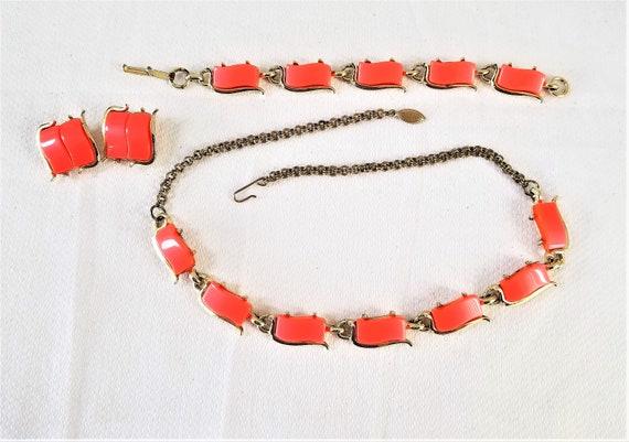 1950's - 60's PARURE SET ( Necklace, Bracelet, & C