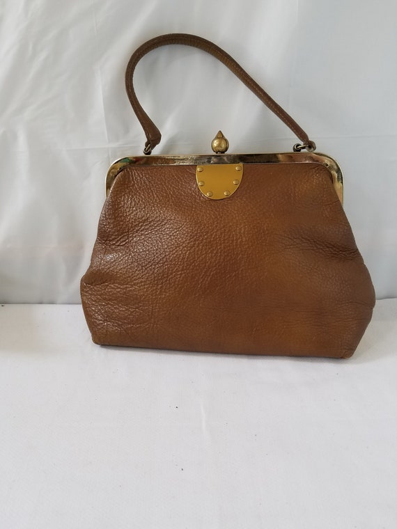 Vintage  ROGER VAN S  Leather Purse