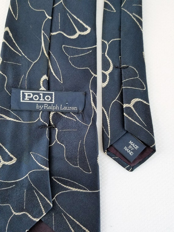 1980's-90's  POLO by RALPH LAUREN  Extra-Long Sil… - image 3