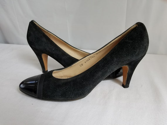 1980's-90's SALVATORE  FERRAGAMO  PUMPS