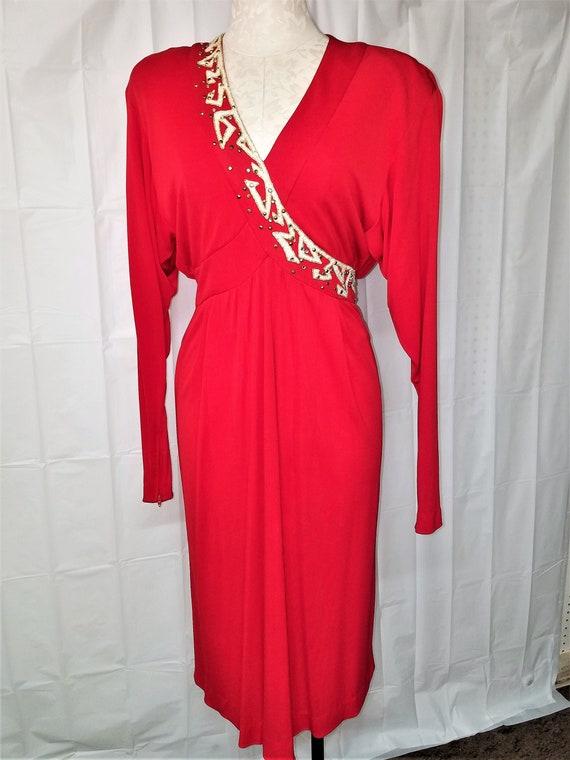 1980's BOB MACKIE  Cocktail Dress