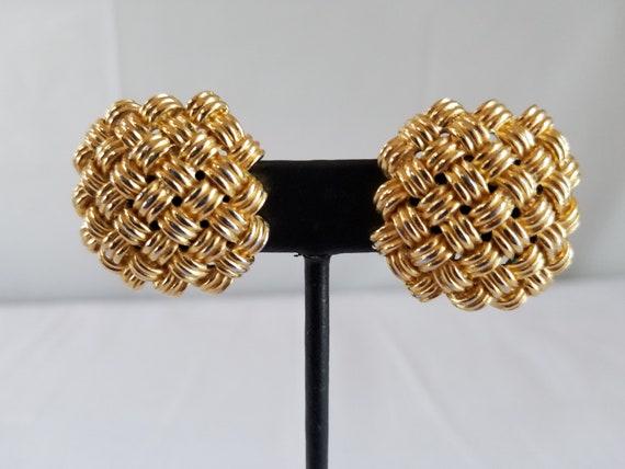 1960's-70's CHRISTIAN DIOR Clip on Earrings