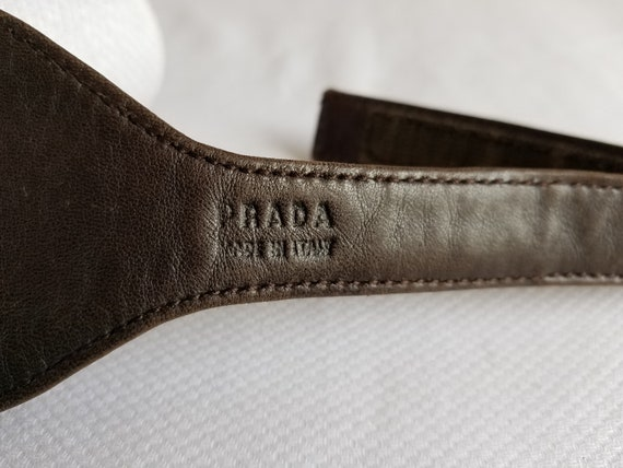 1980's-90's  PRADA Pocket/Money BELT - image 6