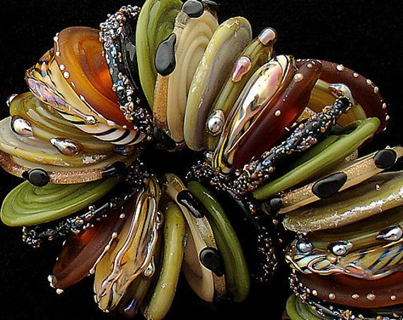 Safari Lampwork Beads For Jewelry Supply Animal Print Beads Jewelry Sets African Beads For Jewelry Craft Supplies Debbie Sanders