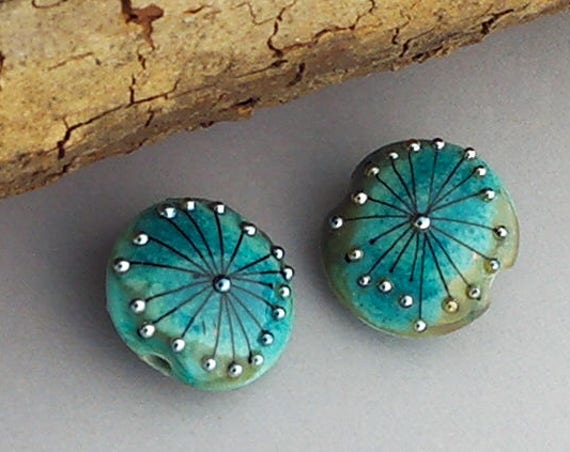 Lampwork Beads Handmade Glass Beads Artisan Beads Beaded Earrings Jewelry Supply Beads For Jewelry Custom Jewelry Glass Debbie Sanders