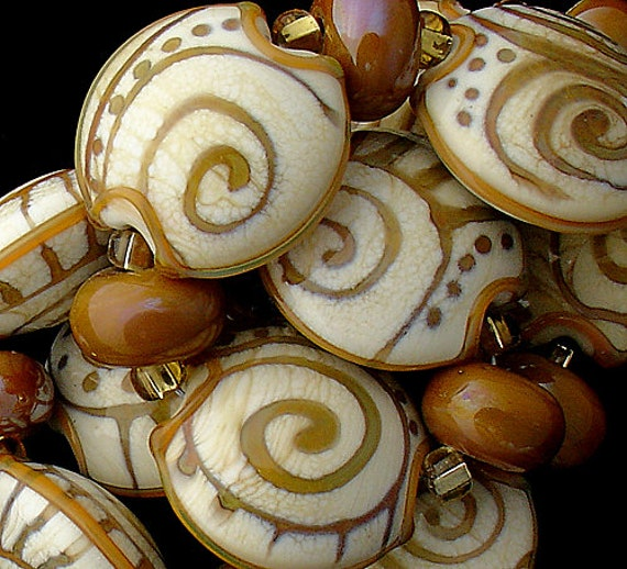 Tribal Lampwork Beads For Jewelry Supplies Statement Necklace Organic Beads For Bracelet Craft Supplies African Style Beads Boho Jewlery
