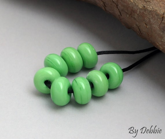 Lampwork Beads Lampwork Spacers Beads Supplies Jewelry Supplies Craft Supplies Beaded Bracelet Bead Spacers Beads Bracelet Debbie Sanders