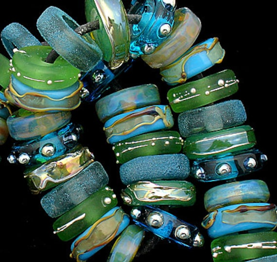 Lampwork Beads Glass Beads Custom Jewelry Handmade Beads For Jewelry Supplies Beaded Earrings Jewelry Making Bead Bracelet Debbie Sanders