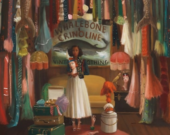 Whalebone and Crinoline. Art Print