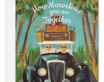 How Marvelous You Are Together Card. SKU JH1135