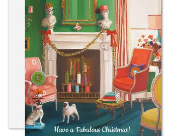 Have A Fabulous Christmas Card. SKU JH1163