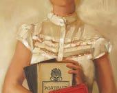 The English Major. Art Print.